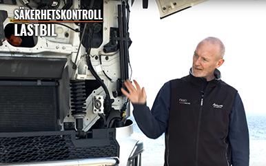Säkerhetskontroll – Lastbil