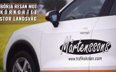 Börja Resan Mot Körkortet: Stor Landsväg